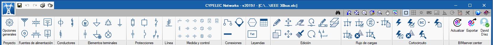 CYPELEC Networks. Interfaz